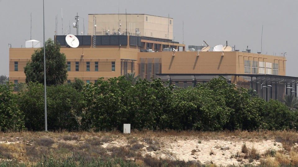 US Embassy In Baghdad Hit By Rocket Fire