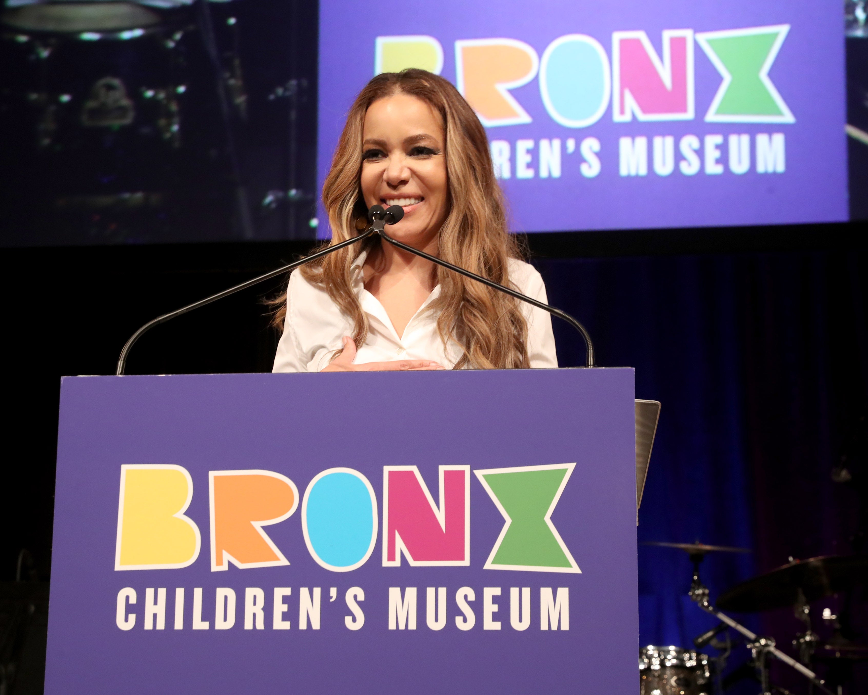 Sunny Hostin speaks onstage at the Bronx Children's Museum Third Annual Gala and Benefit