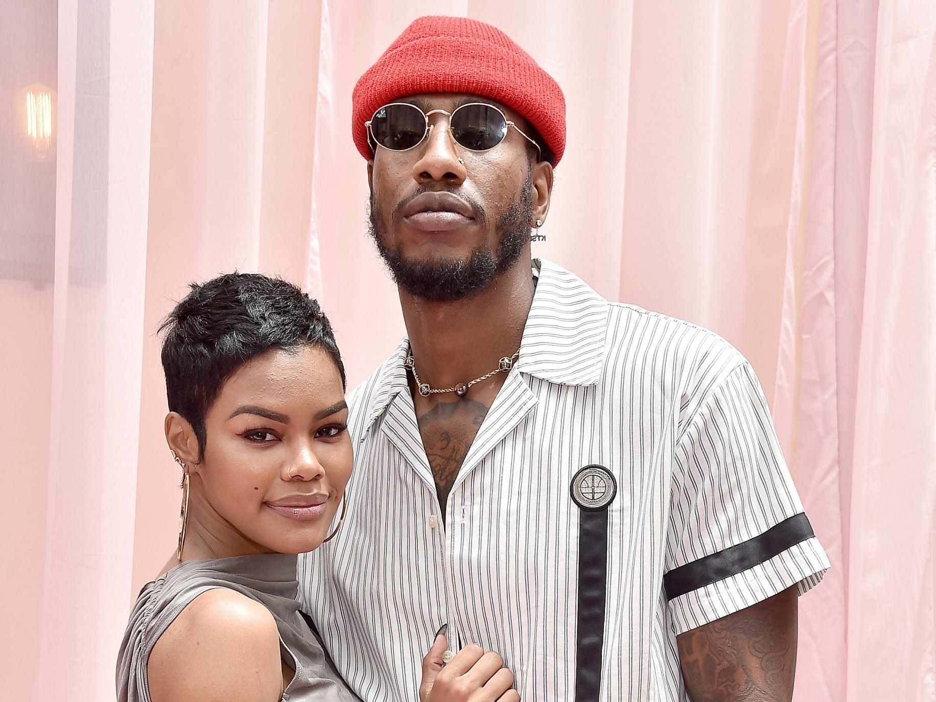 Teyana Taylor and Iman Shumpert Show Off Their Toned Bodies In Jamaica