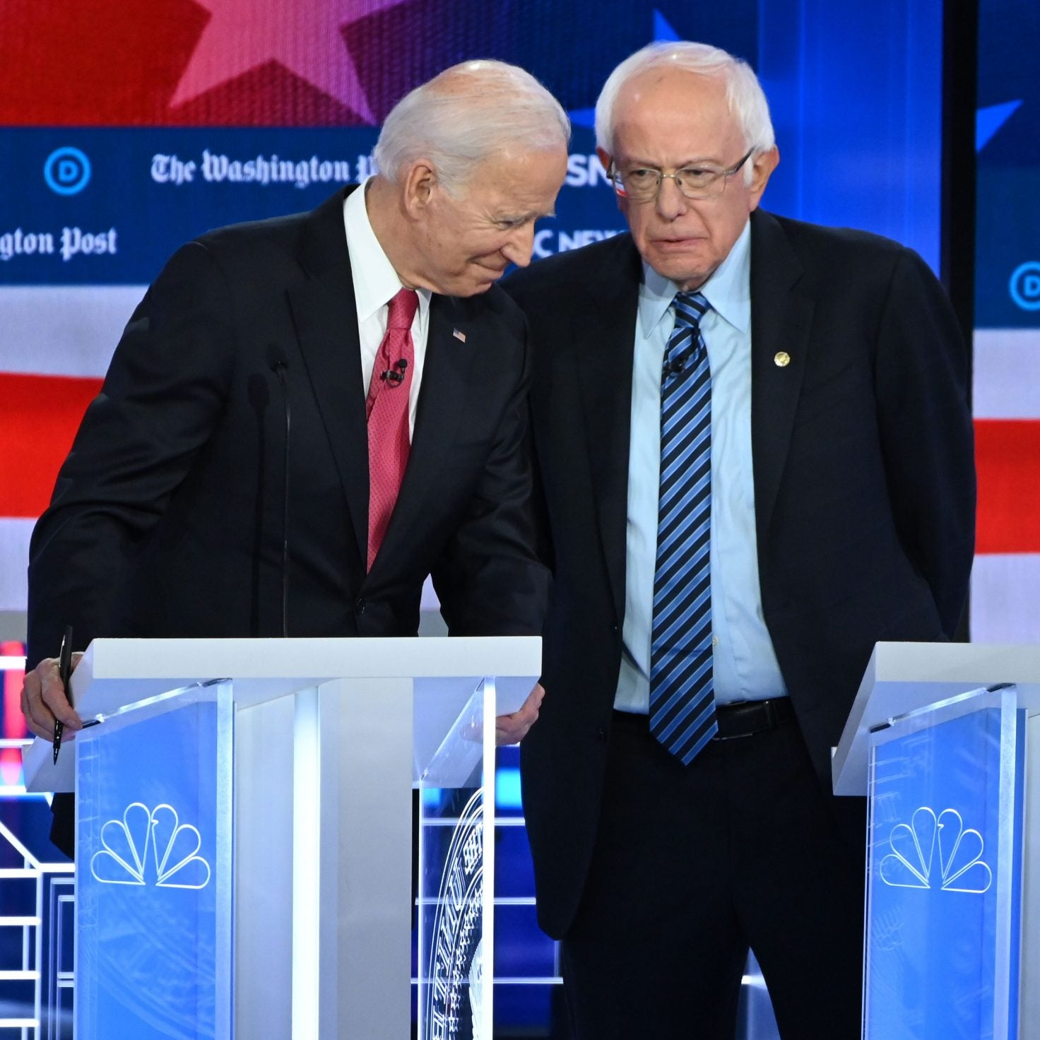 Biden, Sanders Spar Over Social Security