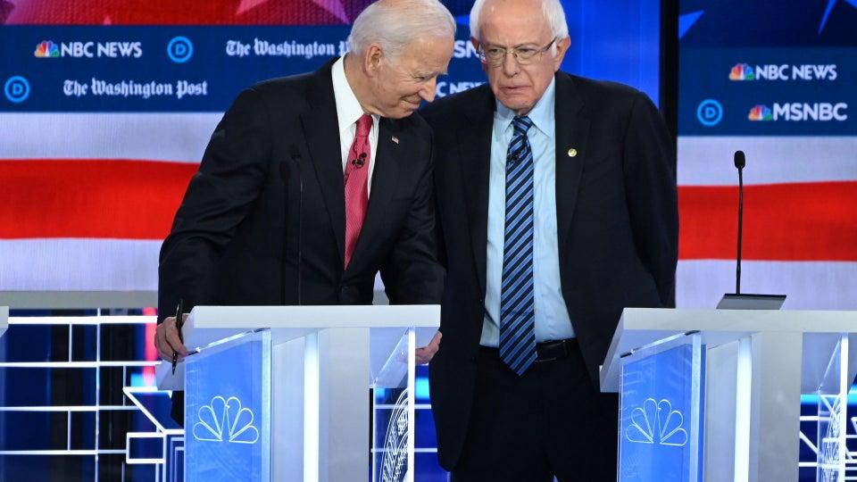 Biden, Sanders Spar Over Social Security