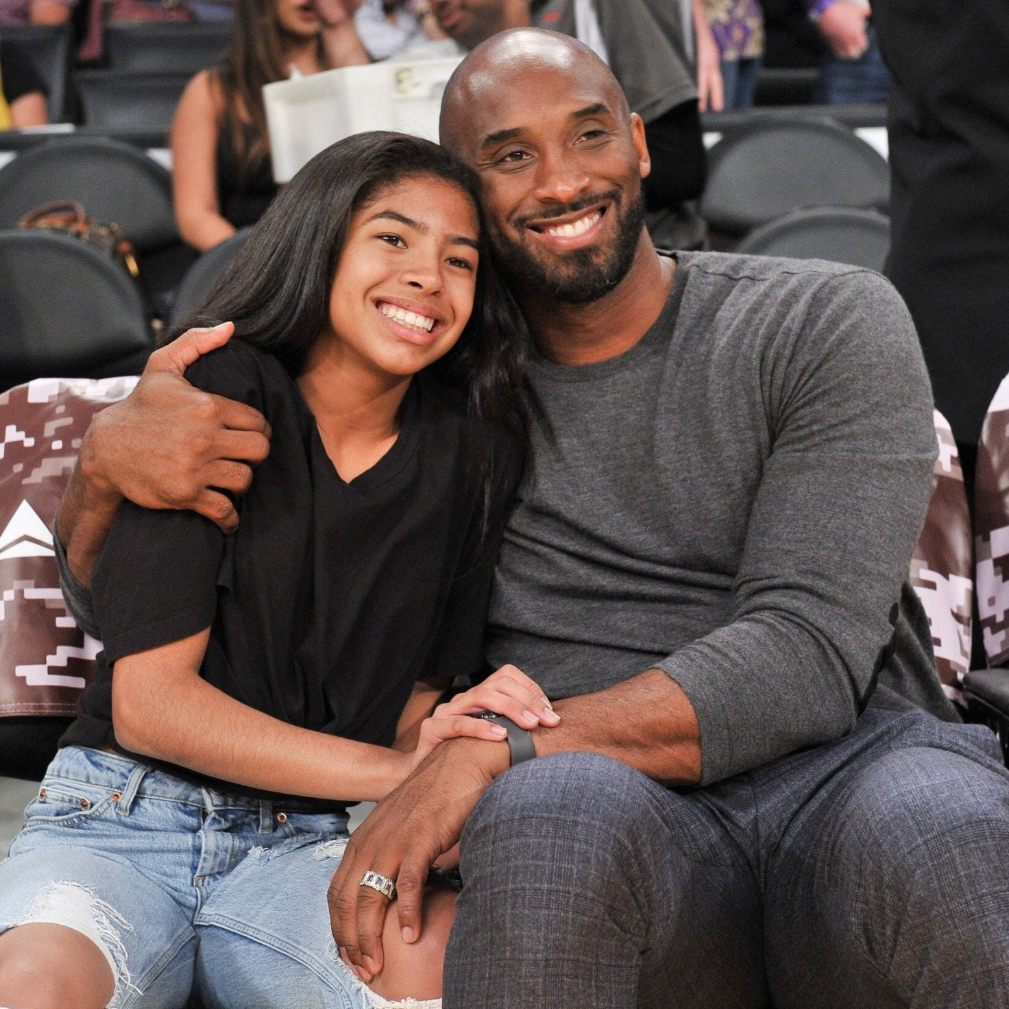 Kobe Bryant's Daughter Gianna, 13, Dies Alongside Father In Helicopter Crash