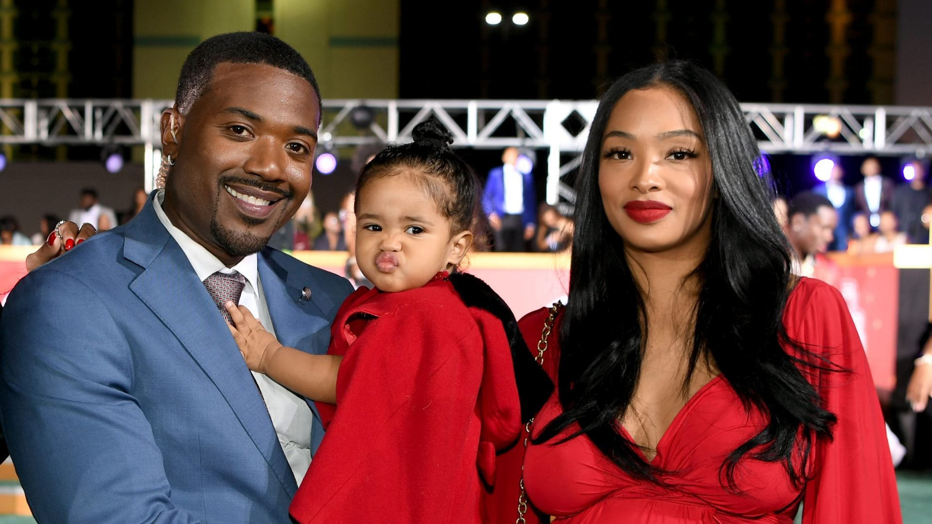 Ray J and Princess Love Welcome A Son