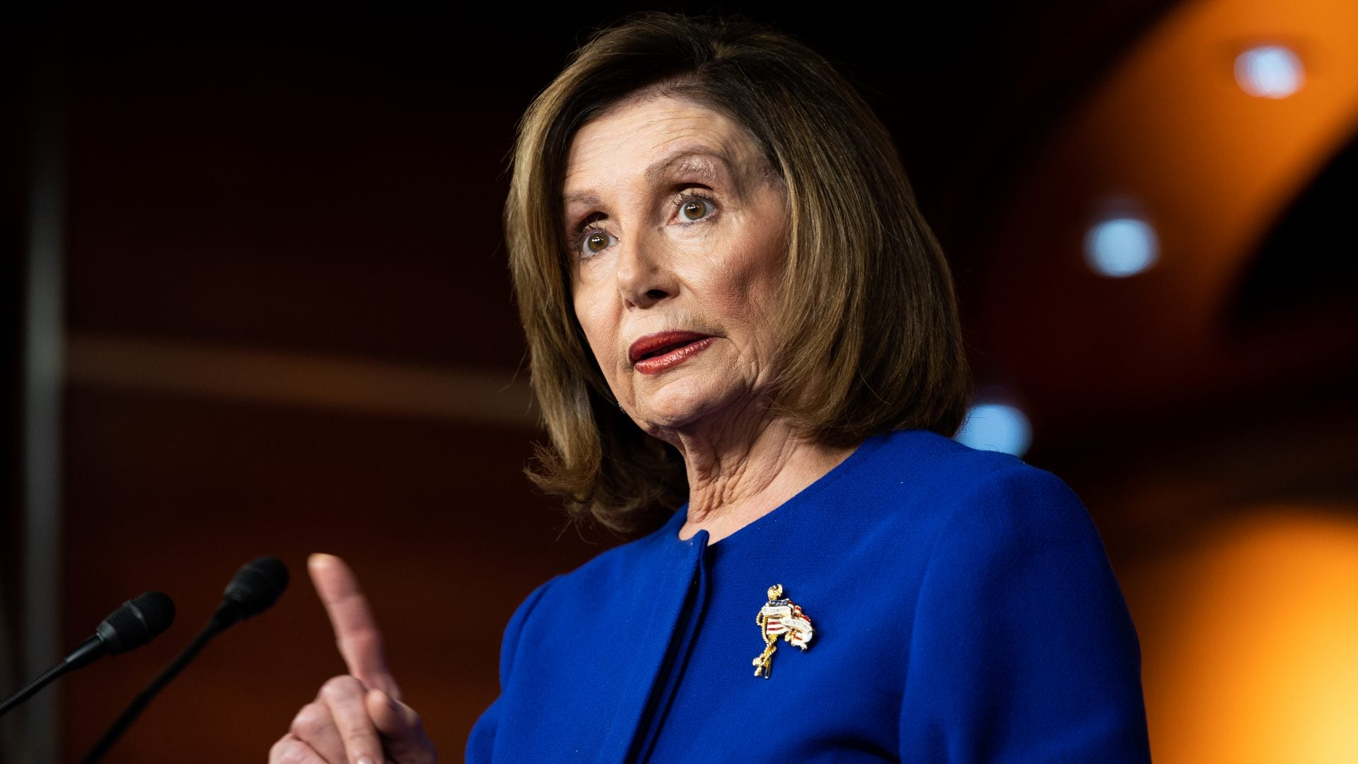Nancy Pelosi Will Send Articles Of Impeachment When She's Good And Ready