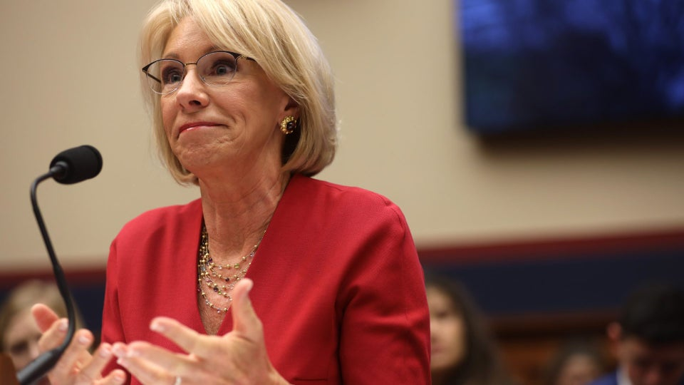 Betsy DeVos Compares Being Pro-Choice To Being Pro-Slavery