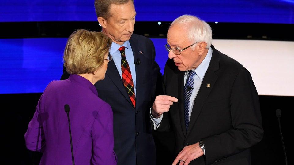 Warren Accused Sanders Of Calling Her A Liar On TV