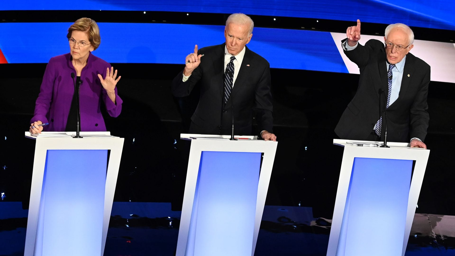 Last Night's Debate Was An All-White Party Not Worth Attending