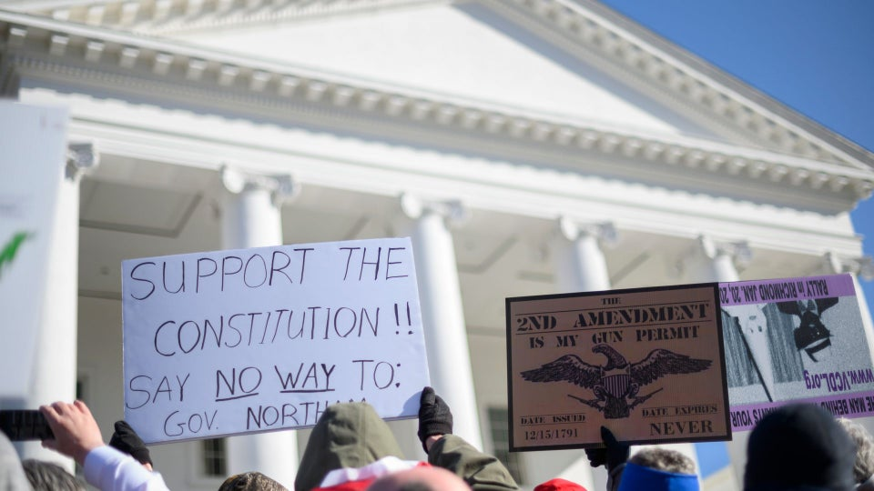 White Supremacist Group Wanted Virginia Gun Rally To Spark Civil War