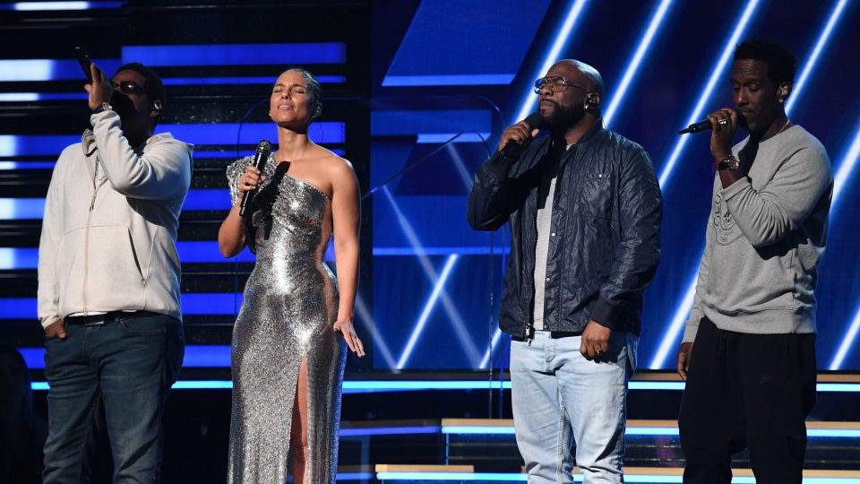 Alicia Keys And Boyz II Men Open Grammy Awards By Honoring Late Kobe Bryant