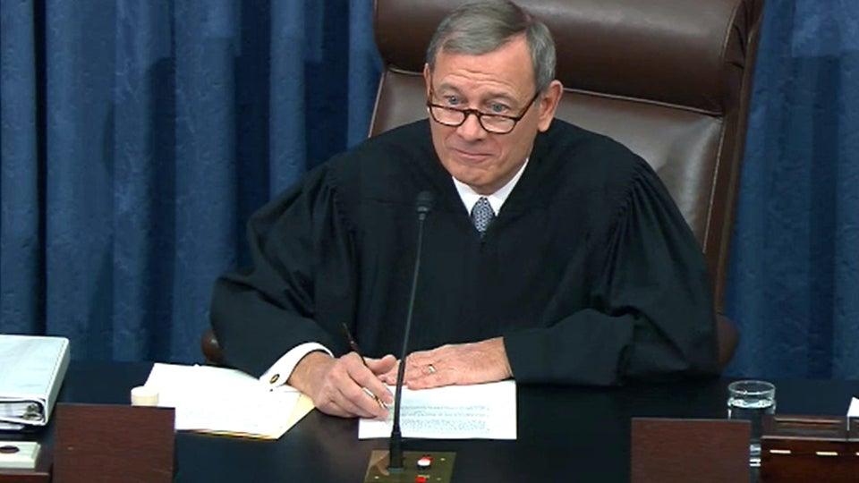 Elizabeth Warren Forces Chief Justice Roberts To Question His Own Legitimacy