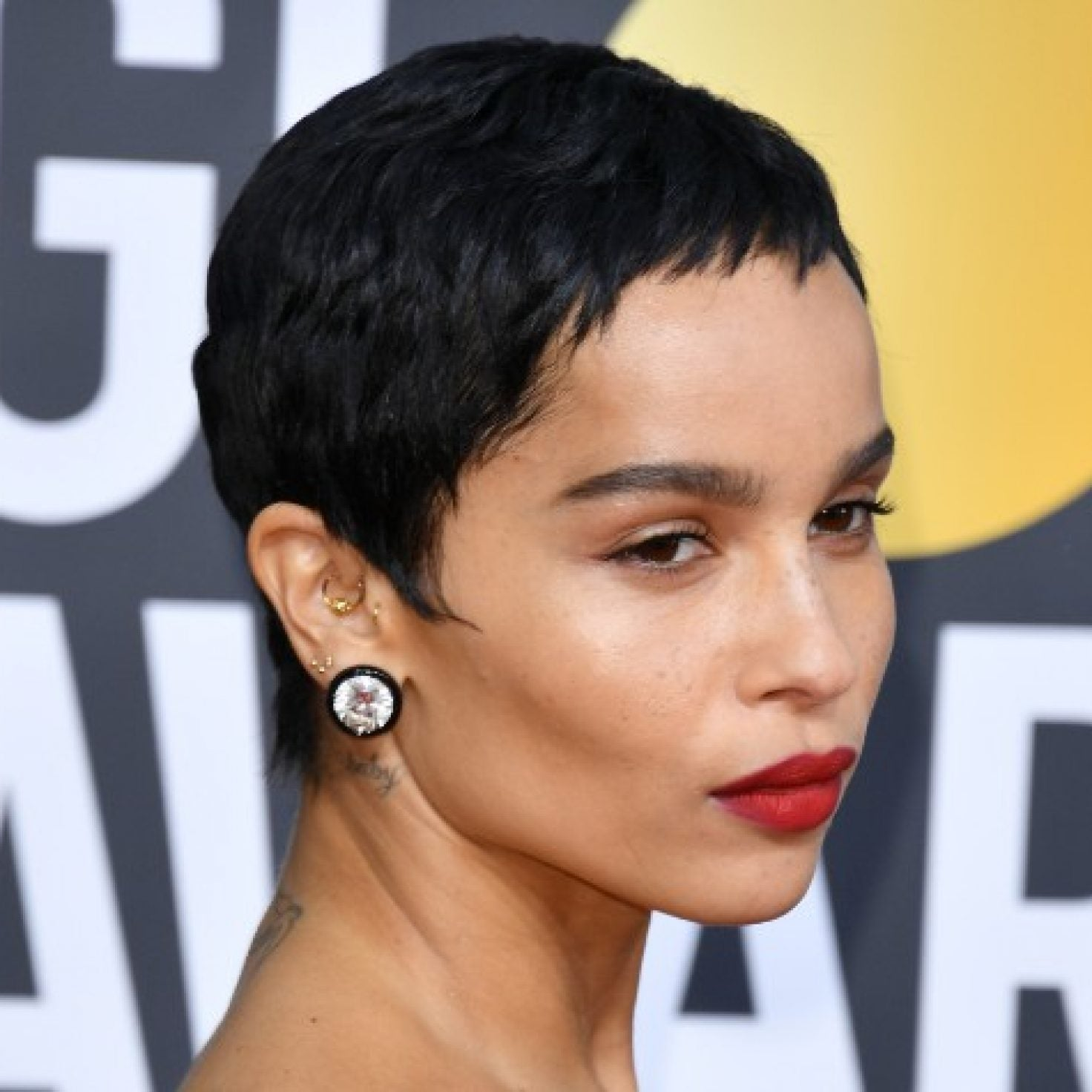 Short Hair Stole The Spotlight At The Golden Globes