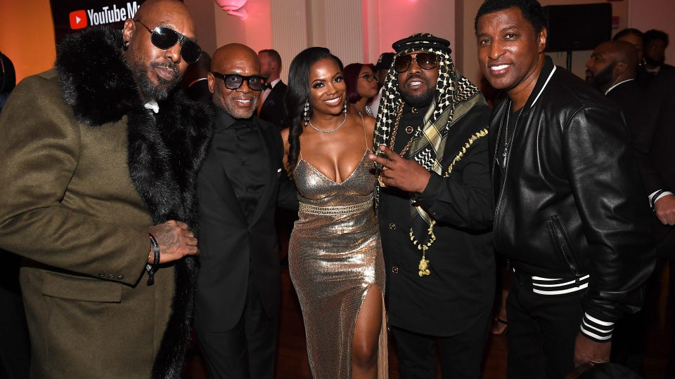 Celebrities Honor LaFace Records At YouTube Music's 2020 Leaders & Legends Ball