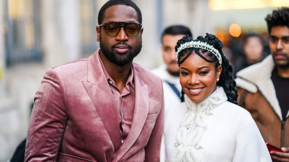 Gabrielle Union And Dwyane Wade Make A Stop At PFW