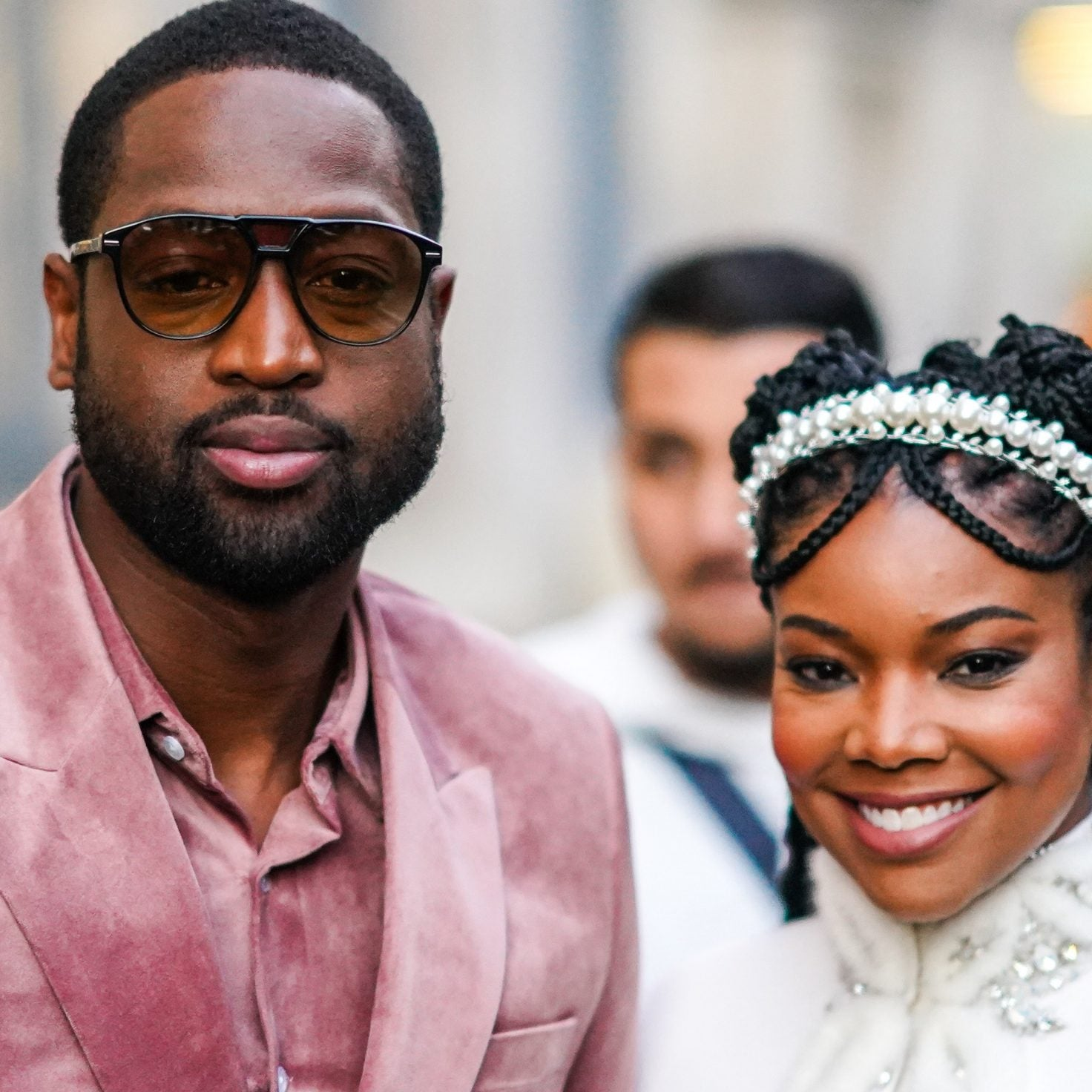 Gabrielle Union And Dwyane Wade Make A Stop At Paris Fashion Week For #WadeWorldTour