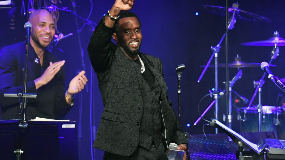 Diddy Slams Grammys During Clive Davis Event