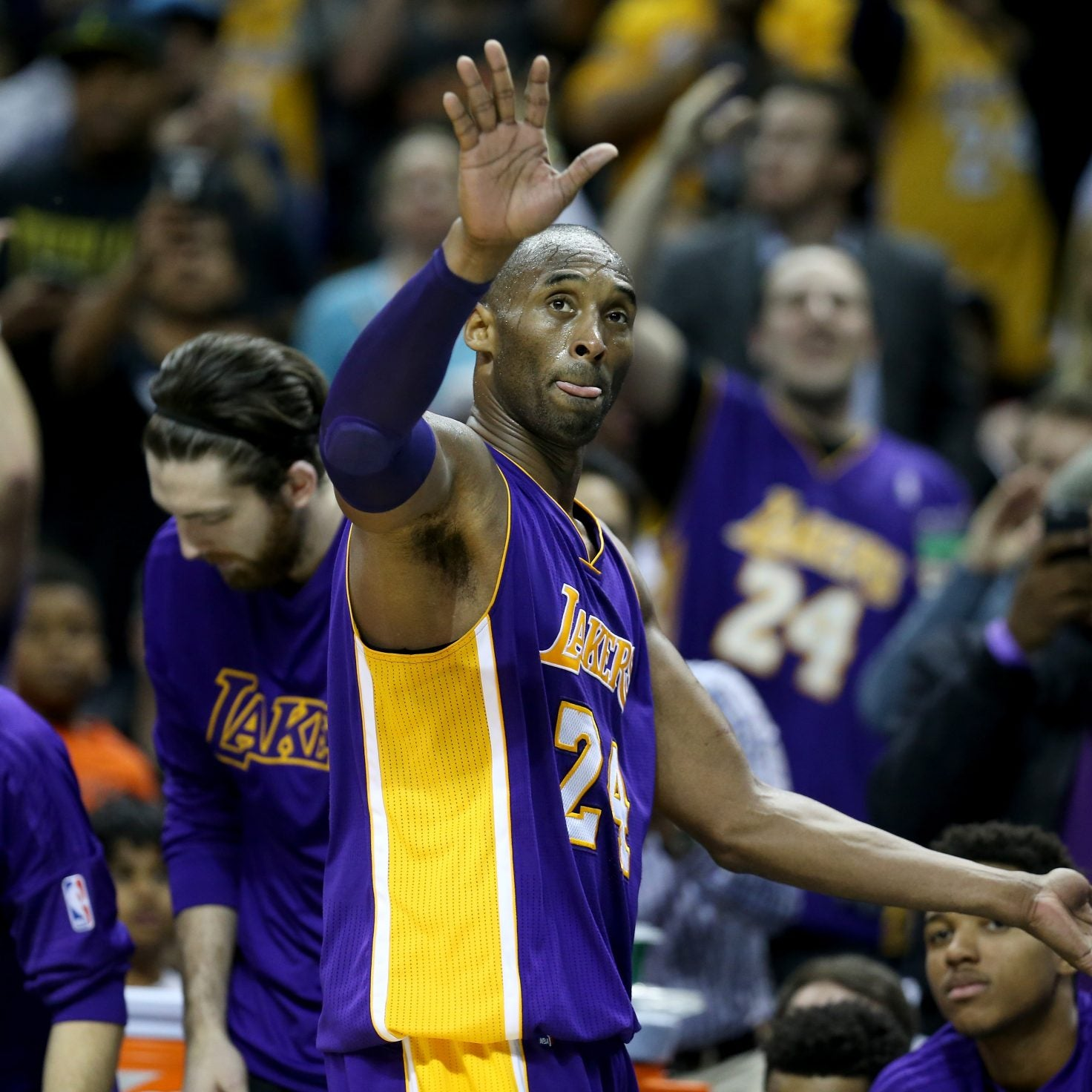 A Look At Kobe Bryant's Inspirational Life And History-Making Career In Photos