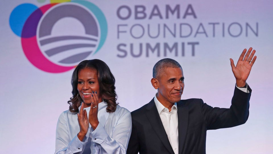 The Obamas And Spike Lee