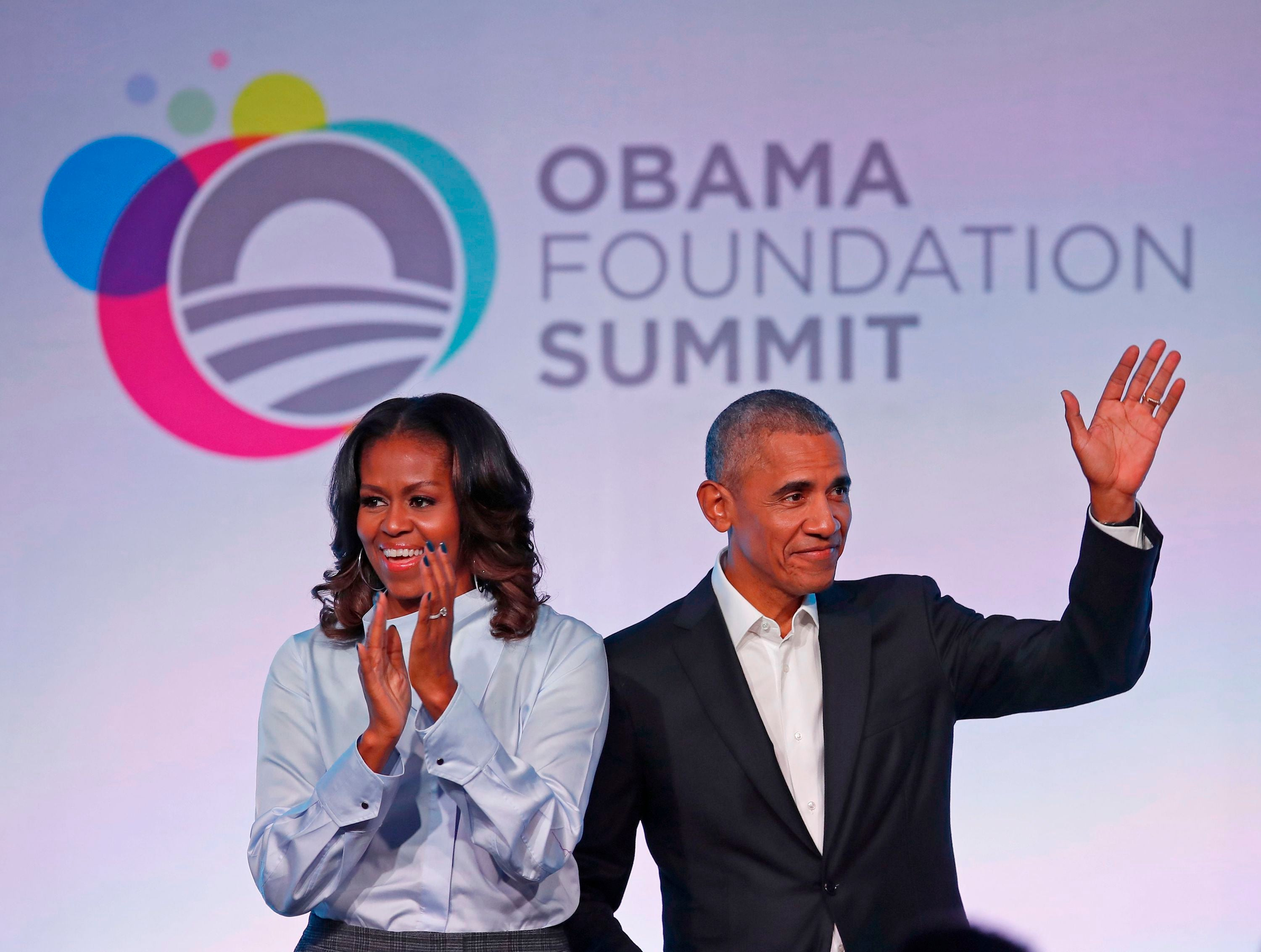 Obama has been holding class through his Obama Foundation Summits