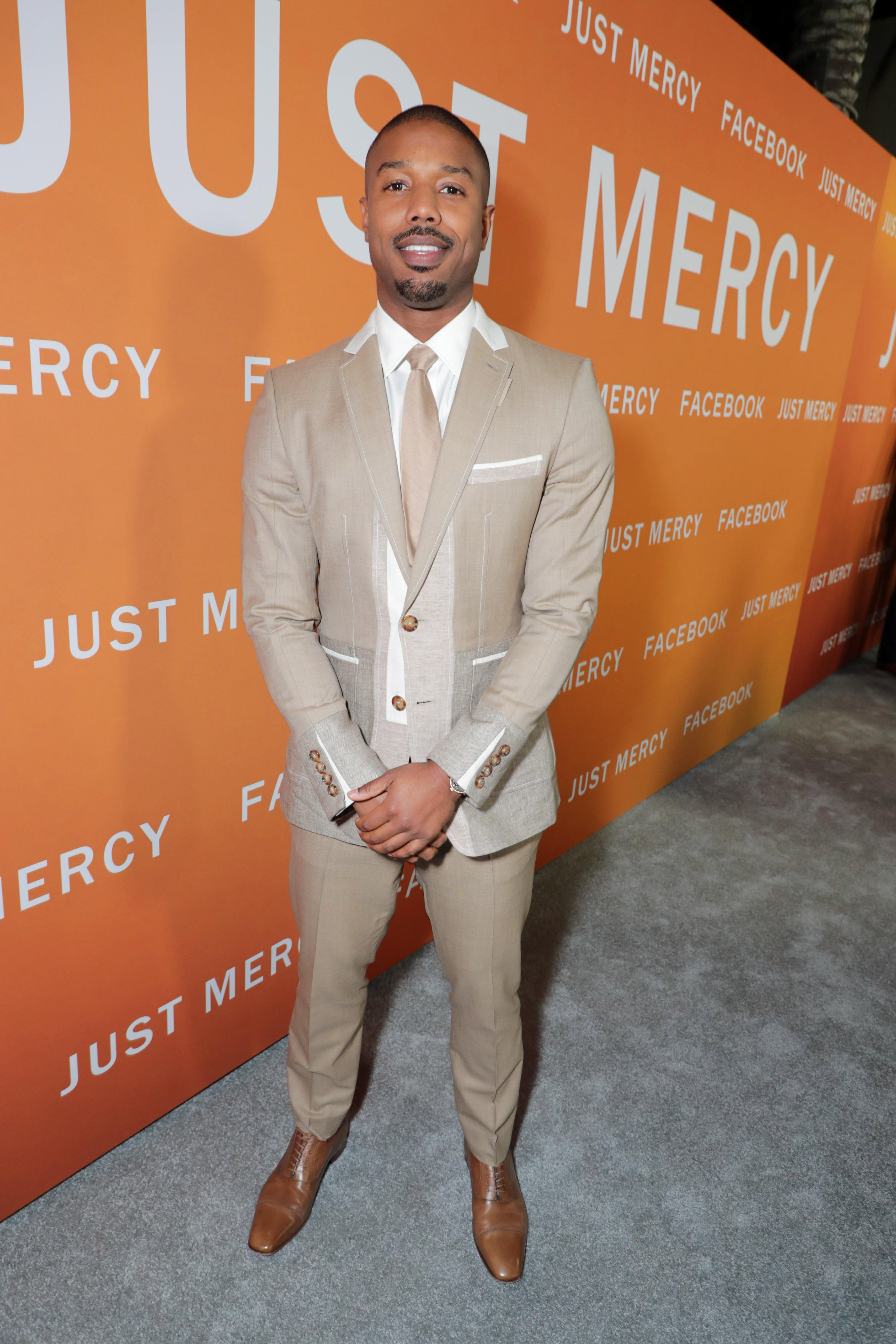 Michael B. Jordan, Warner Bros. Pictures presents JUST MERCY Los Angeles Community Screening, Los Angeles, USA - 06 Jan 2020