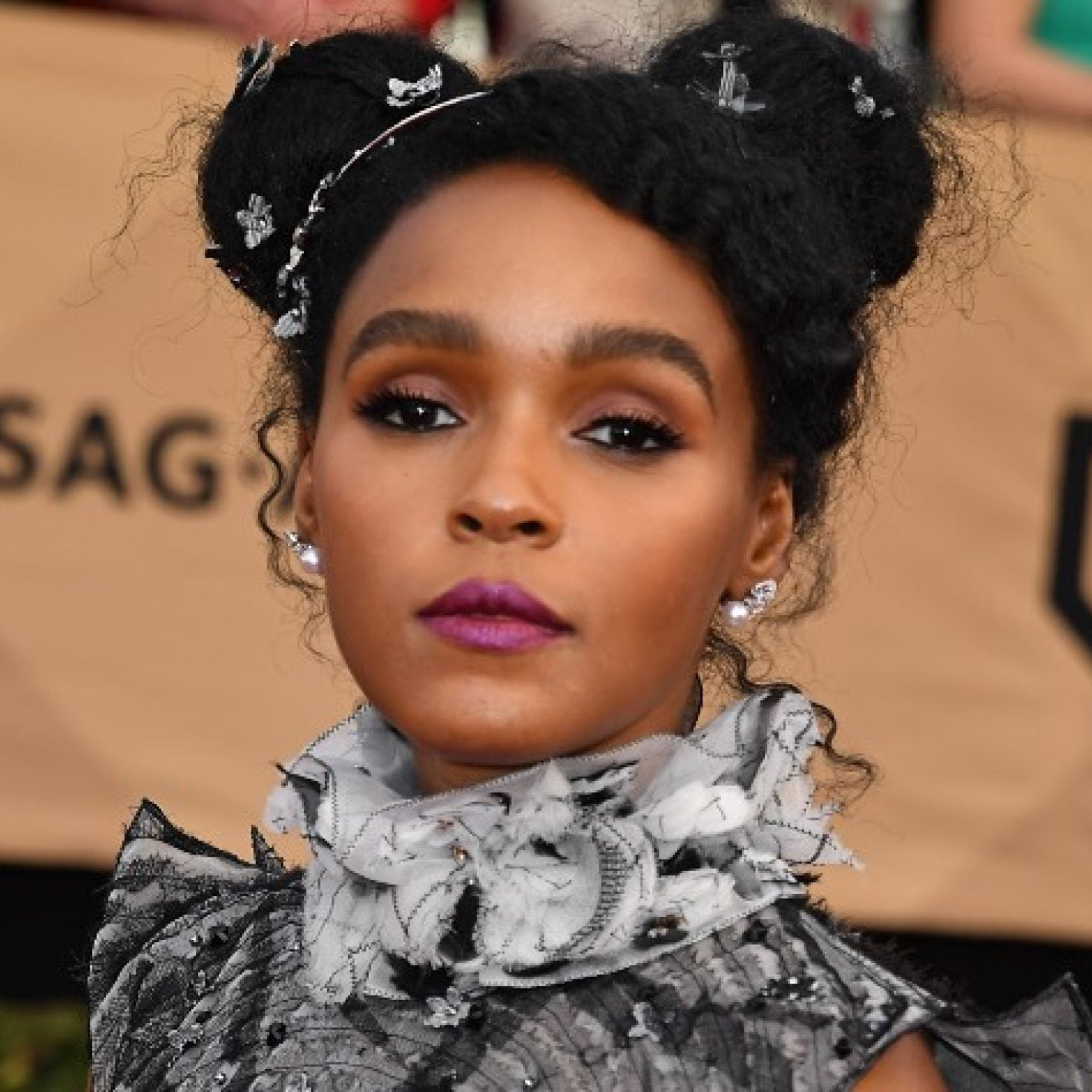 Janelle Monáe's Romantic Beauty Moments Are A 'Do' For Valentine's Day