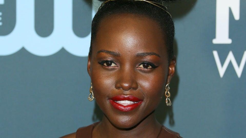 Lupita Nyong'o's Critics' Choice Awards Hair Is Making This Style Trendy Again