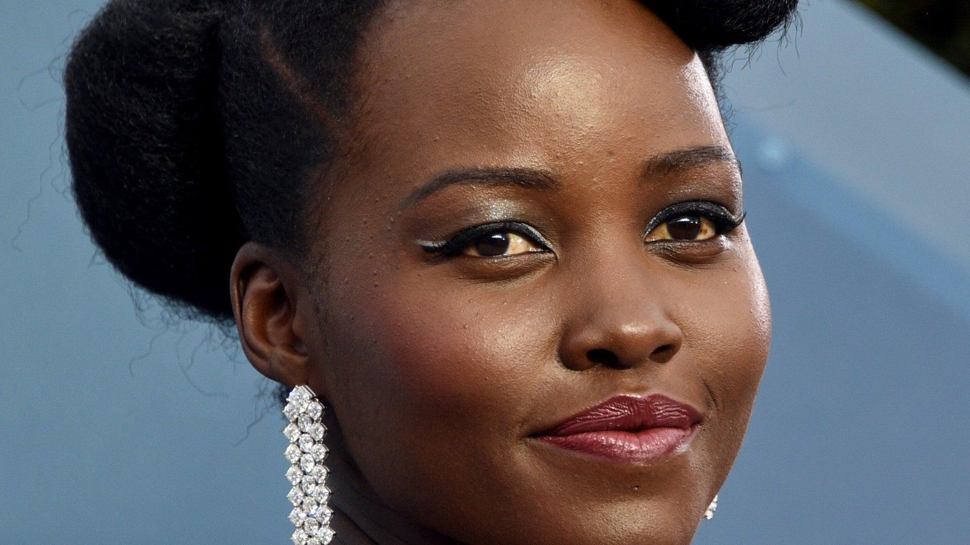 Lupita's Makeup Artist Gives Tips On How To Make Eyeliner Pop On Dark Skin Tones
