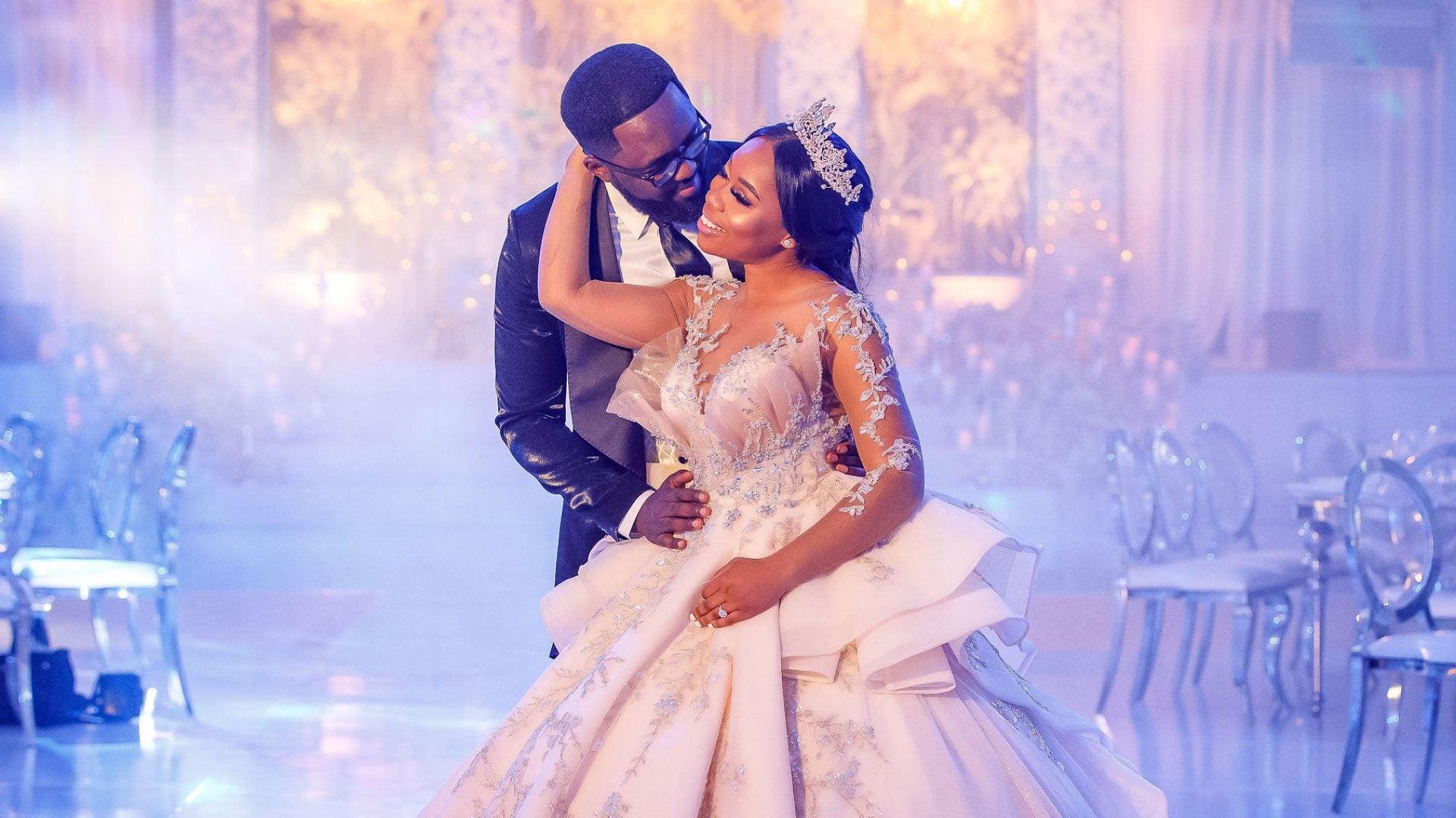 Bridal Bliss: Edmond and Mercy's Heavenly Houston Wedding