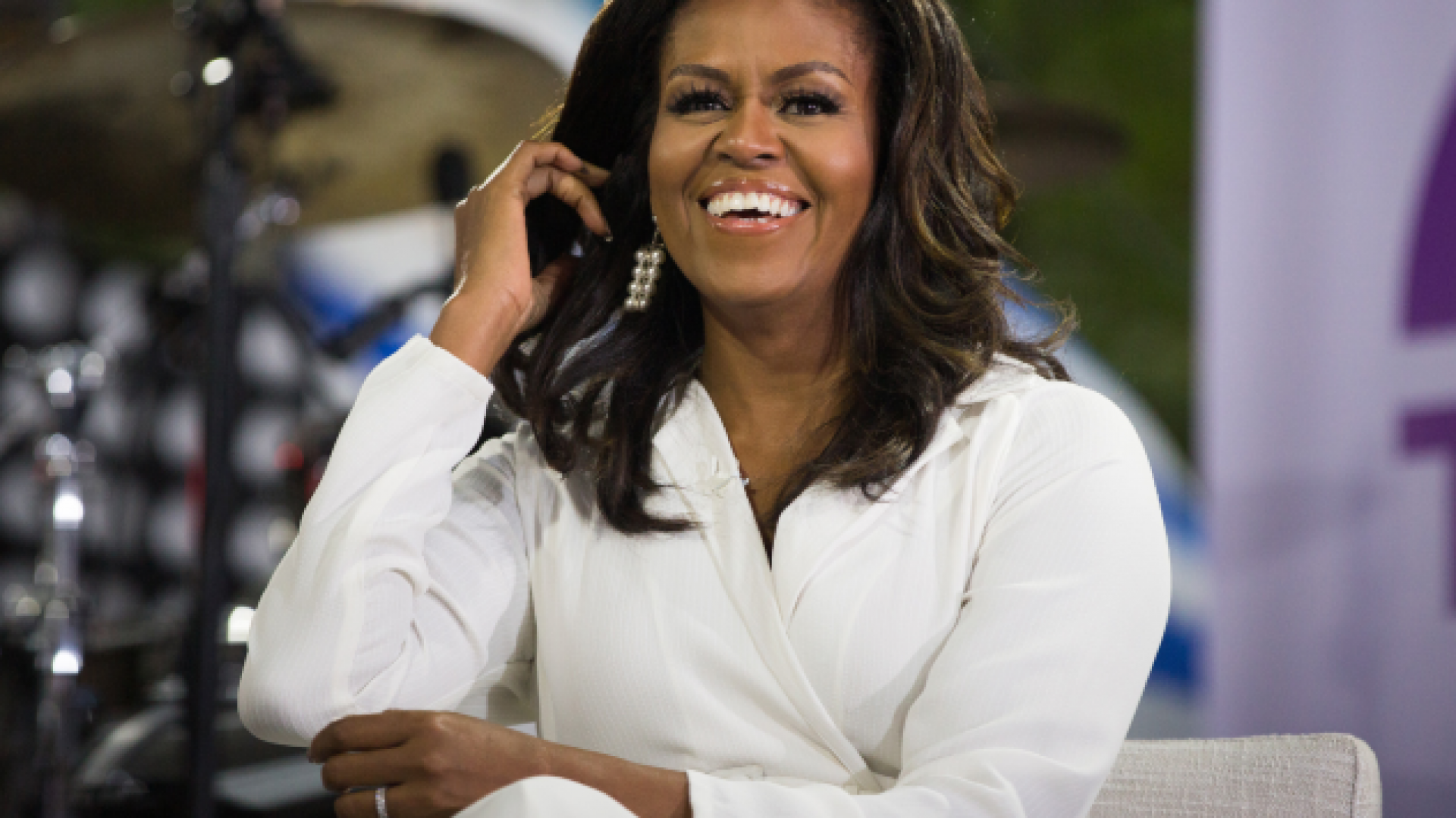 Michelle Obama Explains How She, Barack, Sasha And Malia Are Social Distancing