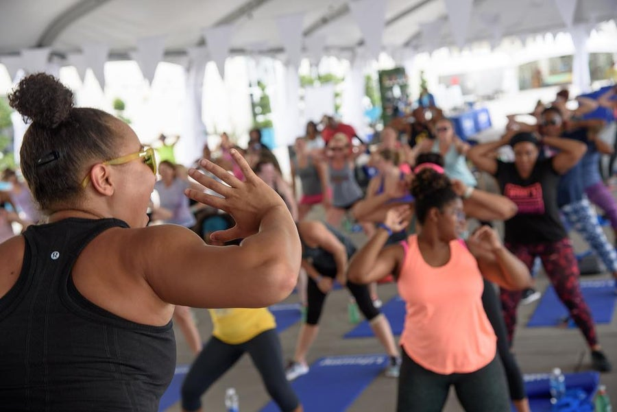 How A Facebook Group Became A Movement Inspiring Women To Get Up And Move Their 'Brass'