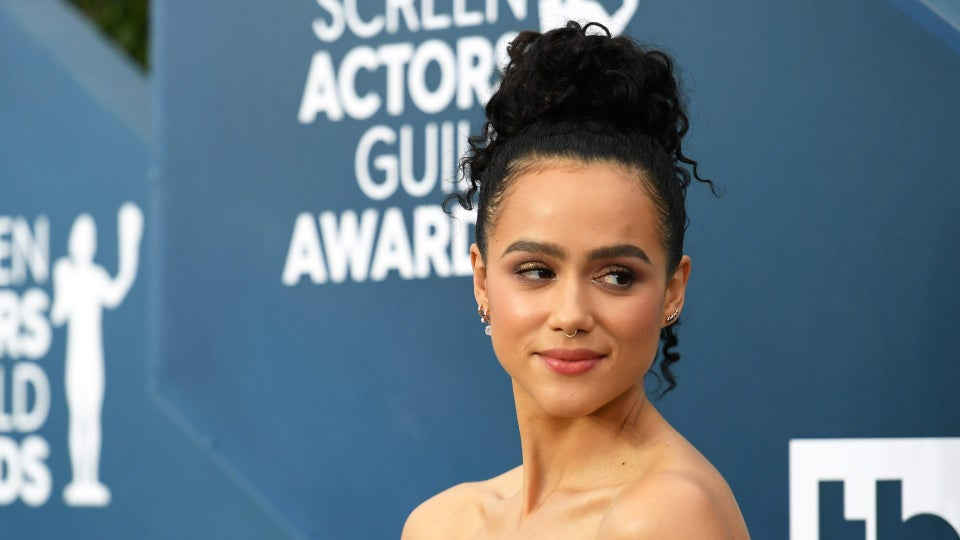 'Game Of Thrones' Actress Nathalie Emmanuel's SAG Look