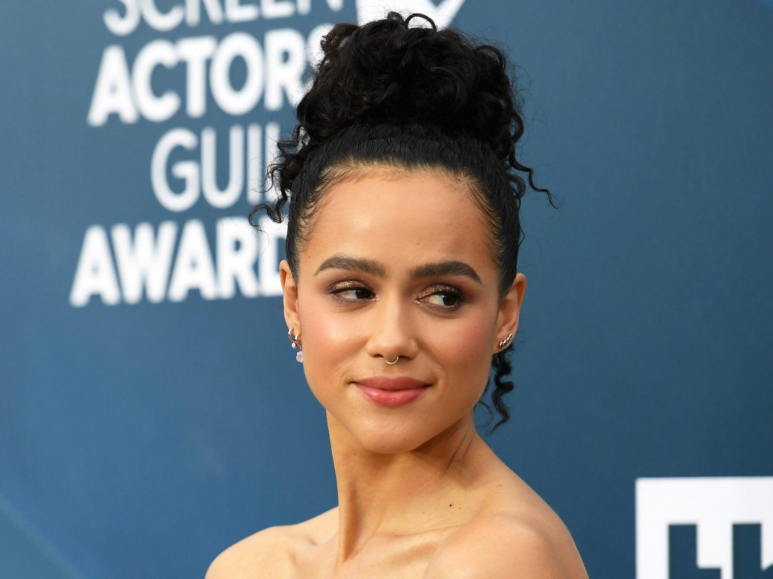 'Game Of Thrones' Actor Nathalie Emmanuel's SAG Look