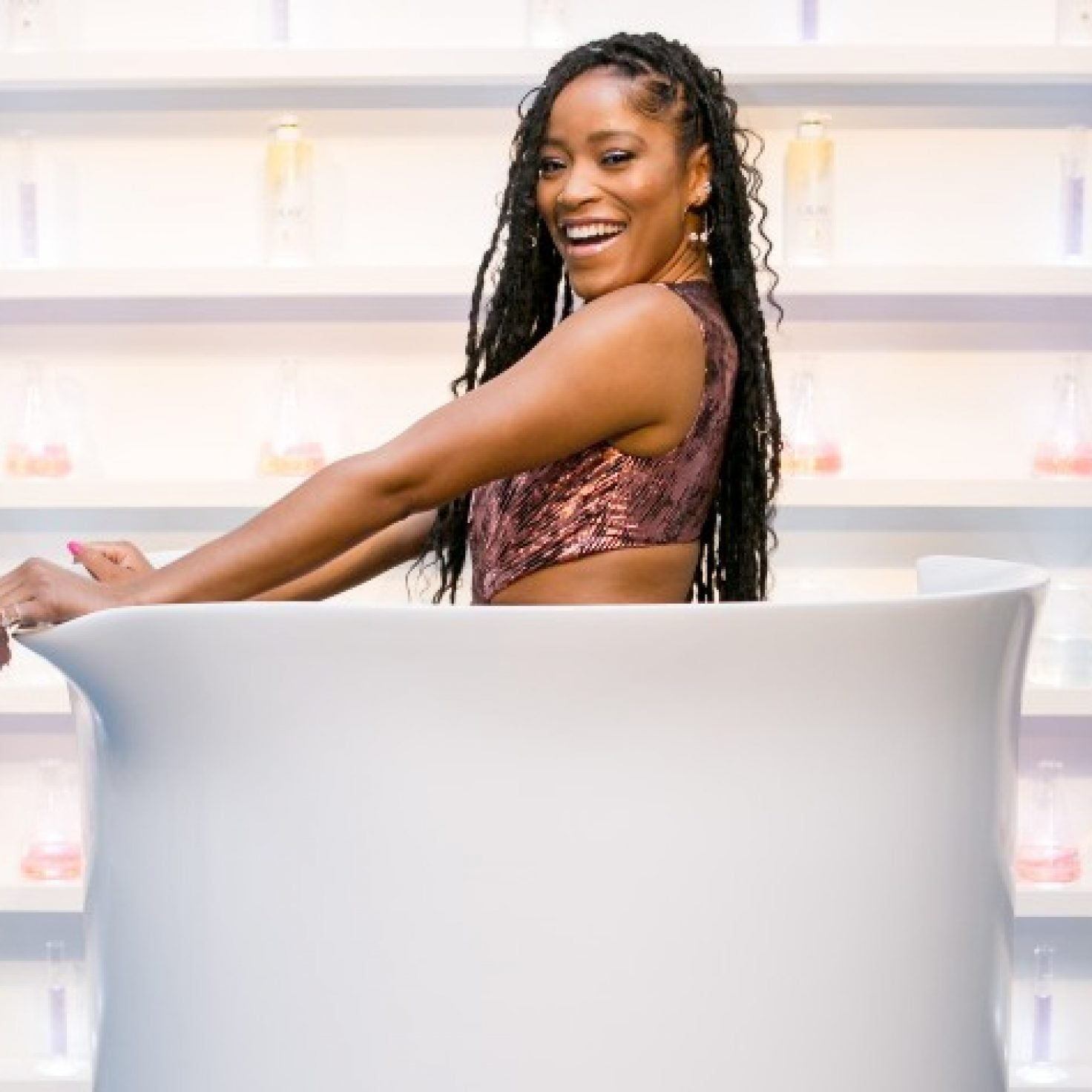 Keke Palmer Is Named Official Spokesperson Of Olay Body Skincare-Inspired Collection
