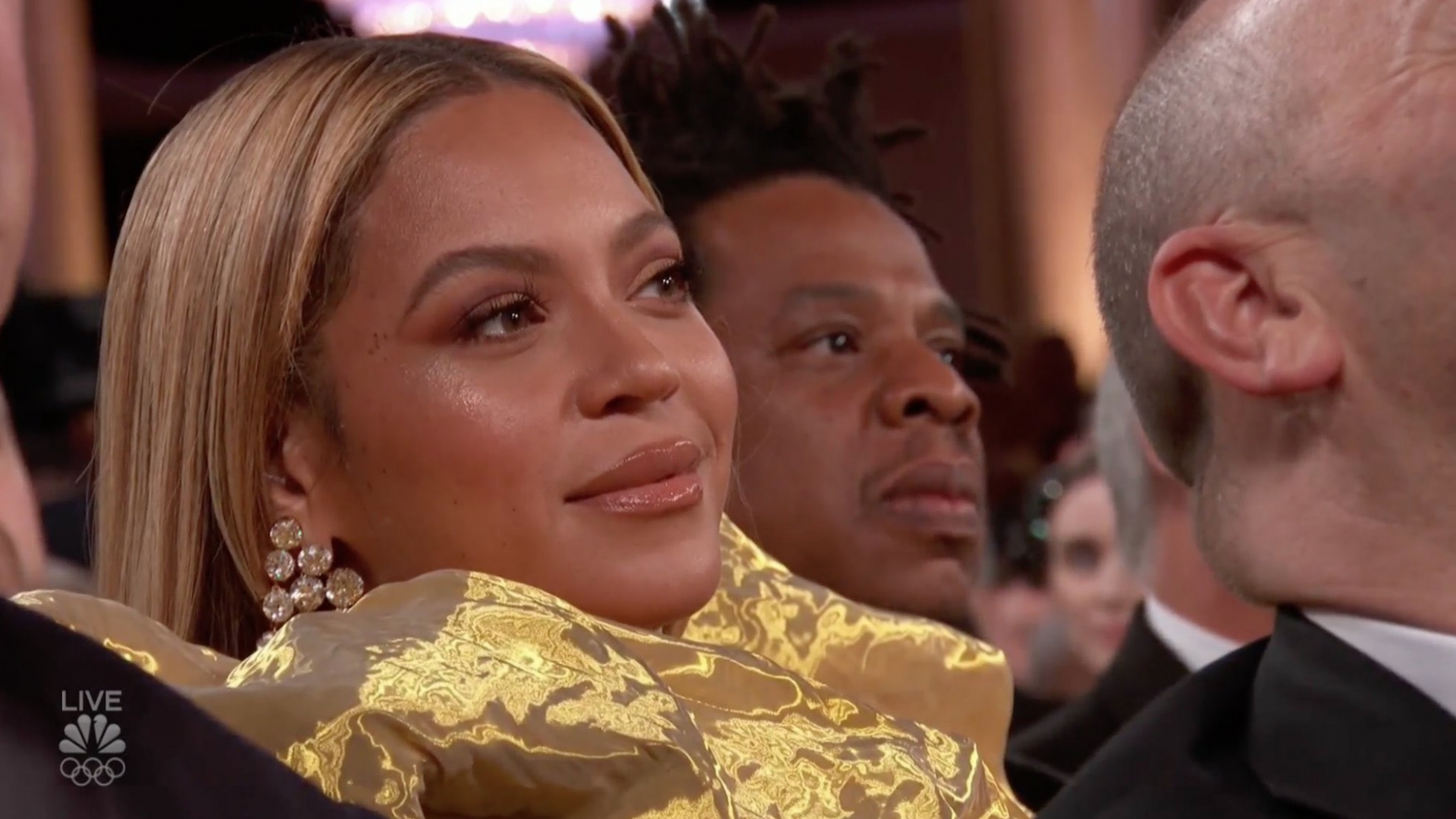 Beyoncé Surprised Everyone By Gracing The Golden Globes With Her Presence