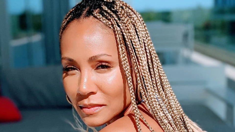 Jada Pinkett Smith's New Hair  Is Cut and Color Goals