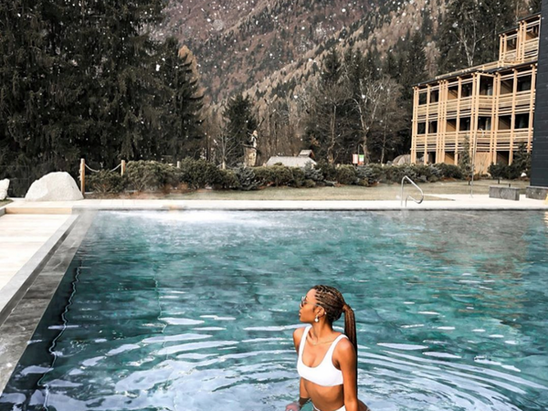 Black Travel Vibes: Have A Snowy Adventure In The Dolomites