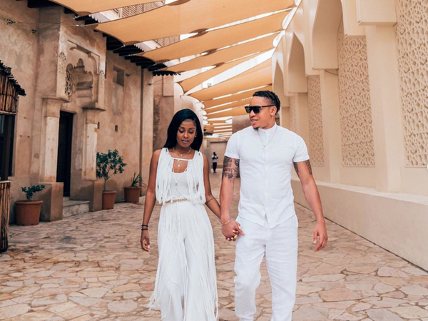 Rotimi And Vanessa Mdee Are Bringing The Heat To Dubai