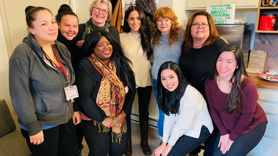 Meghan Markle's First Public Appearance After Royal Separation Is To A Vancouver Women's Center