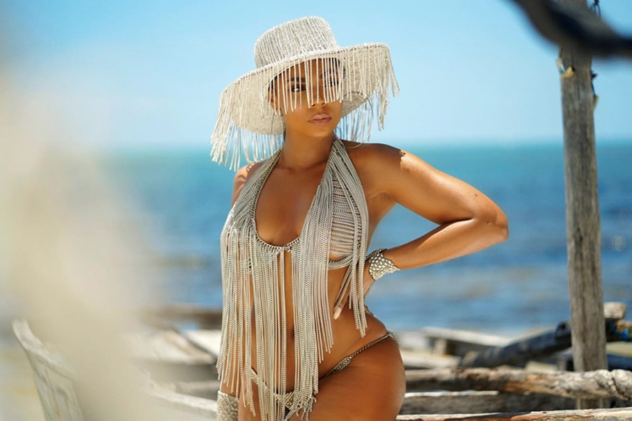 10 Times Ashanti Gave Us Body Goals On Vacation
