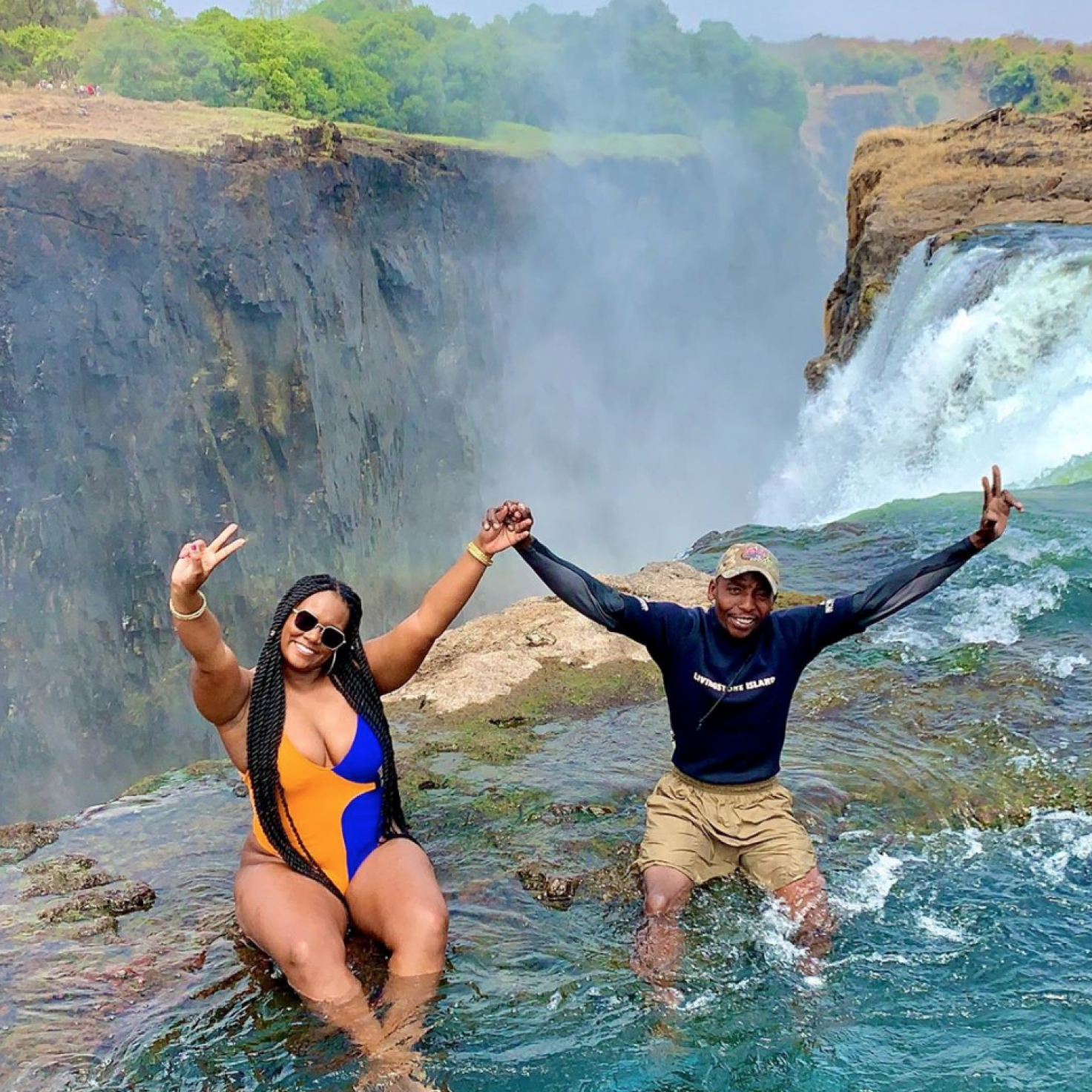 Black Travel Vibes: Embrace Your Inner Daredevil In Zambia
