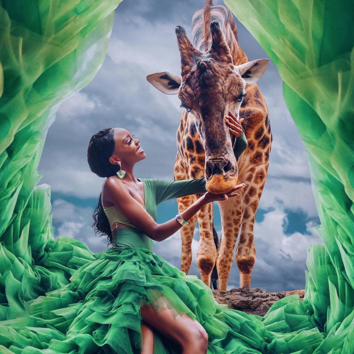 Miss Universe Kenya Stacy Michuki's Stunning Safari Photoshoot Will Leave You Speechless