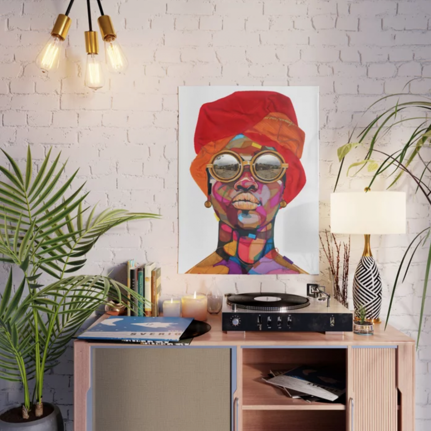 5 Colorful Pieces By Black Artists That Your Home Decor Needs Right Now
