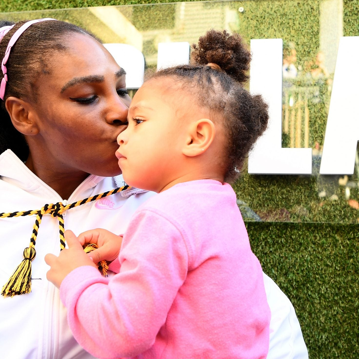 Serena Williams Speaks French With Her 2-Year-Old In This Adorable Video