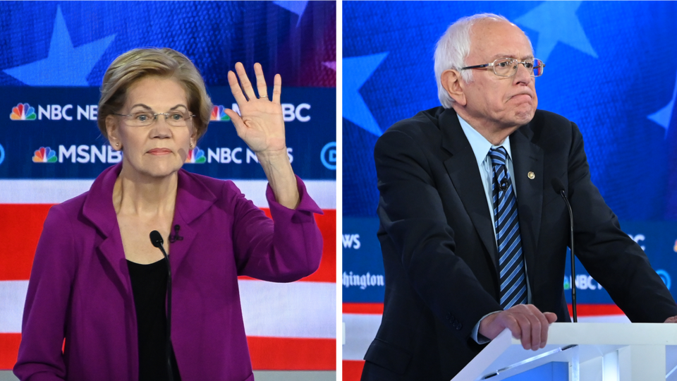 Warren Takes Private Meeting With Sanders Public, Setting Off Social Media