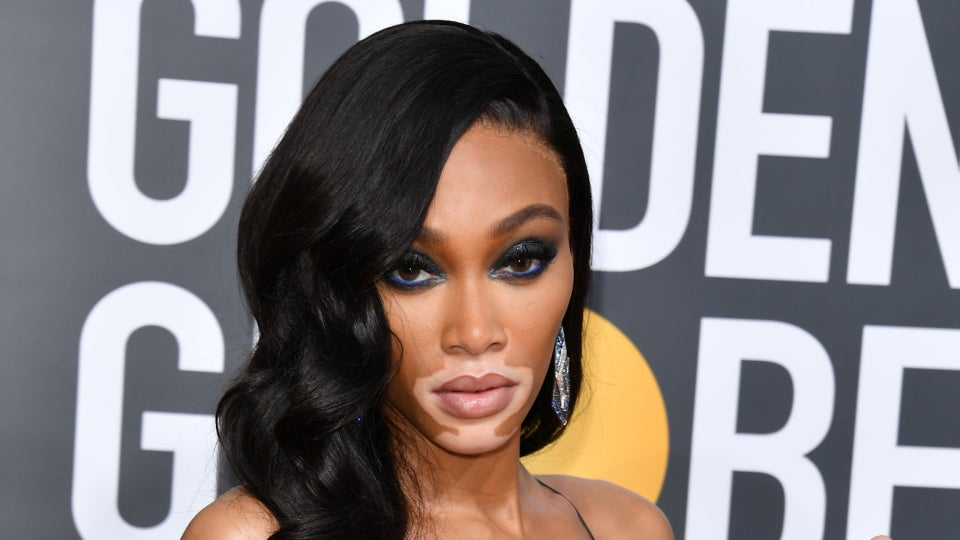 Winnie Harlow Wore This $12 Beauty Product At The Golden Globes
