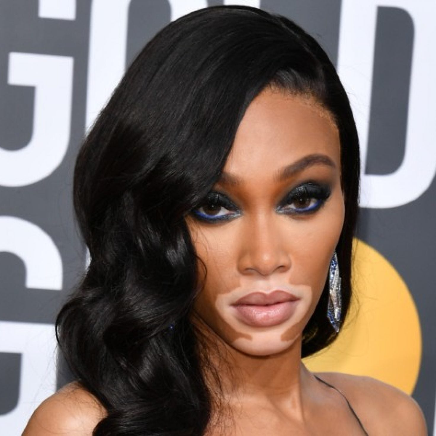 Winnie Harlow's Stunning Golden Globes Beauty Look Included This $12 Product