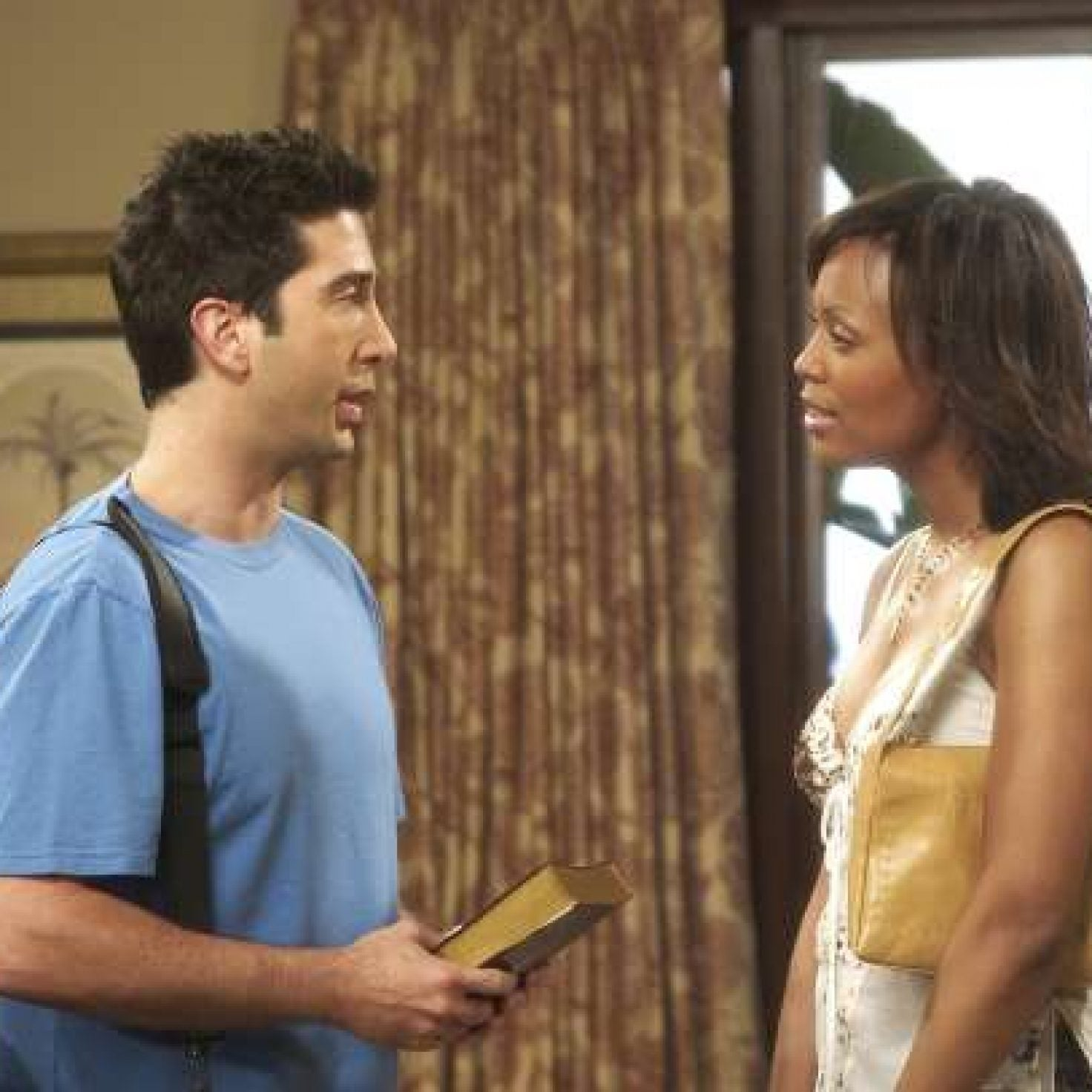David Schwimmer Reveals He Pushed For His Character Ross To Date Black Women On 'Friends'