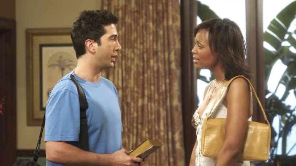 David Schwimmer Reveals He Pushed For Ross To Date Black Women On 'Friends'
