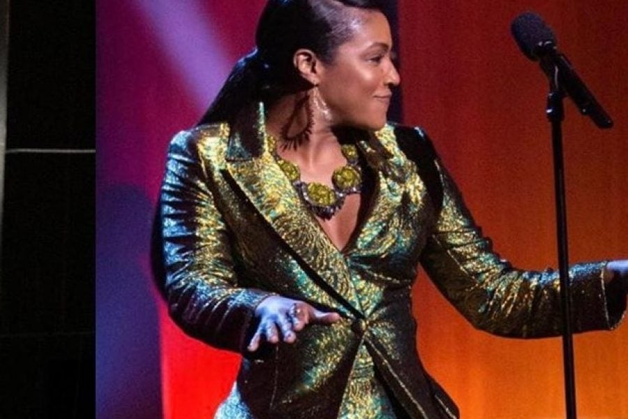 Here's The Custom Suit Beyonce Gifted Tiffany Haddish - Essence