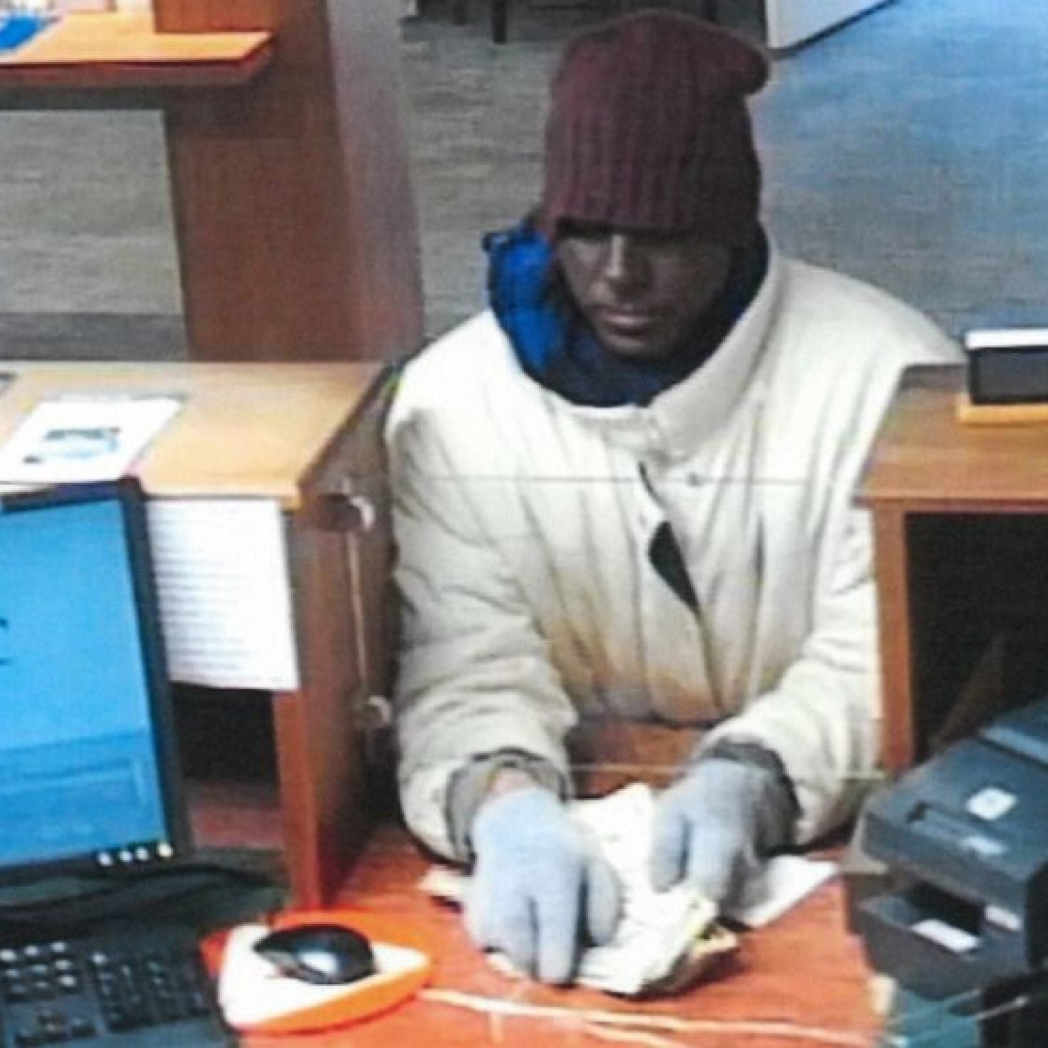 Police Searching For White Man Who Robbed Maryland Bank Wearing Blackface