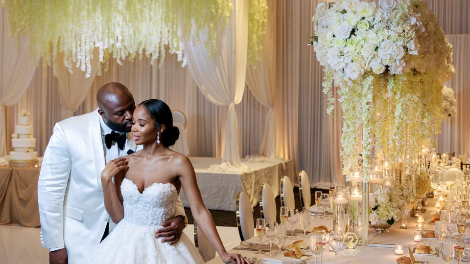 Bridal Bliss: Barbara Had A Beyoncé-Inspired Dance Surprise For Her Groom Edmund At Their Dreamy Wedding